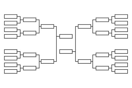 Support de tournoi de vecteur