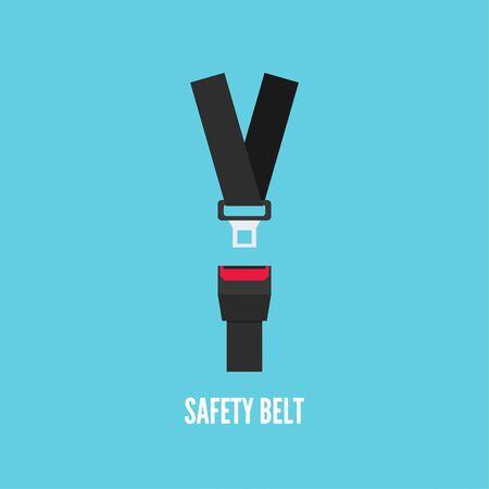 Seat Belt icon.