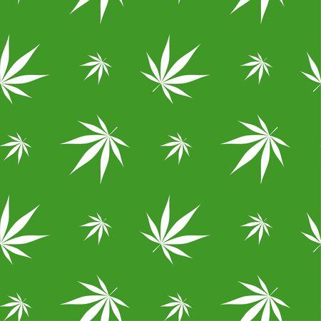 Vector illustration of marijuana Stock Vector - 128483016