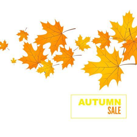 Abstract autumn background Ilustracja