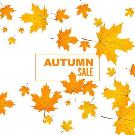 Fondo abstracto de otoño