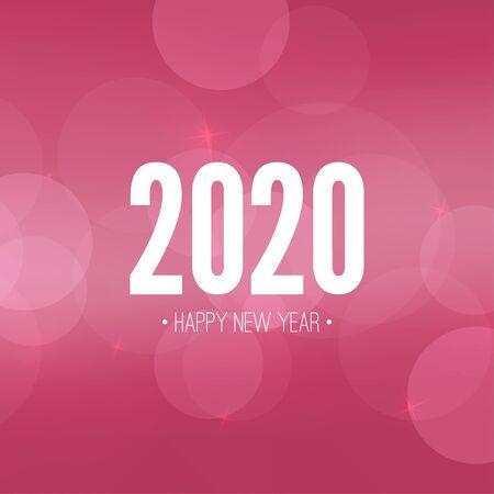 Happy New Year illustration Vektorové ilustrace