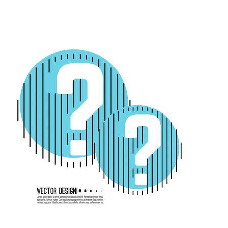 Question mark icon Reklamní fotografie - 138200033