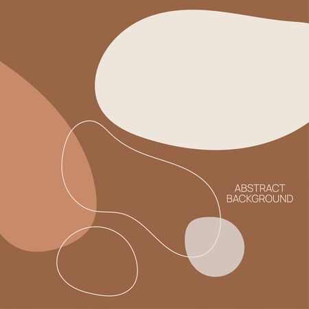 Abstract vector illustration. Çizim