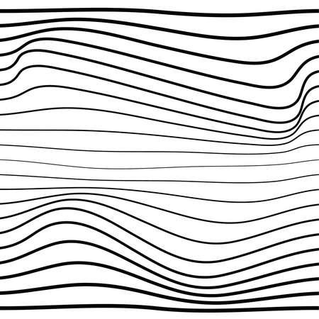 Distorted wave monochrome texture.
