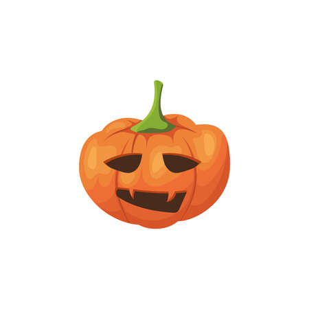 Halloween scary pumpkin.