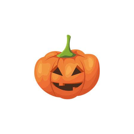 Halloween scary pumpkin. Ilustração