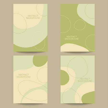 Set of abstract backgrounds.