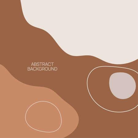 Vector illustration in pastel colors. Ilustração
