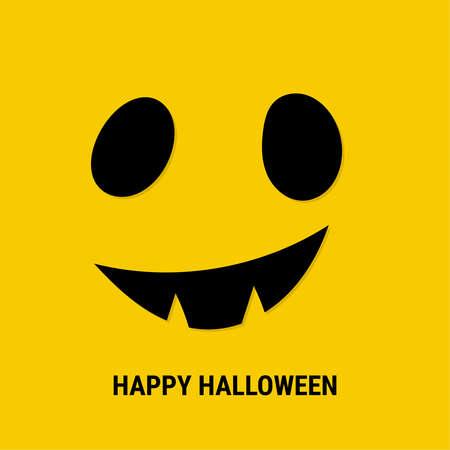 Halloween scary mask. Ilustração