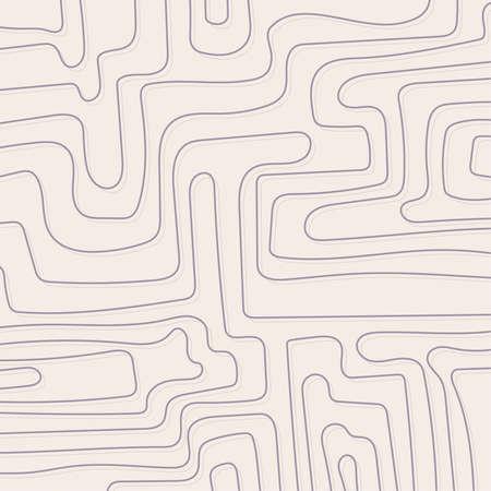 Distorted wave monochrome texture. Ilustração
