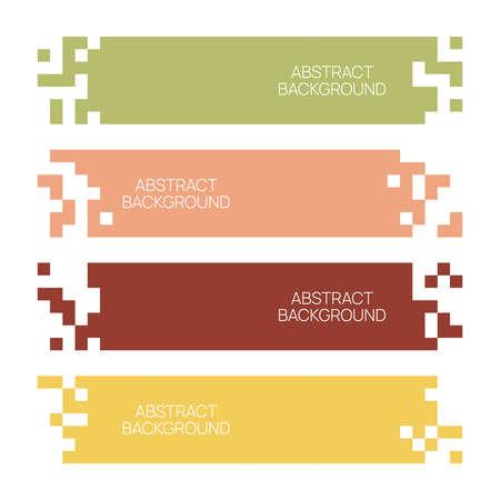 Mosaic web template. Ilustração