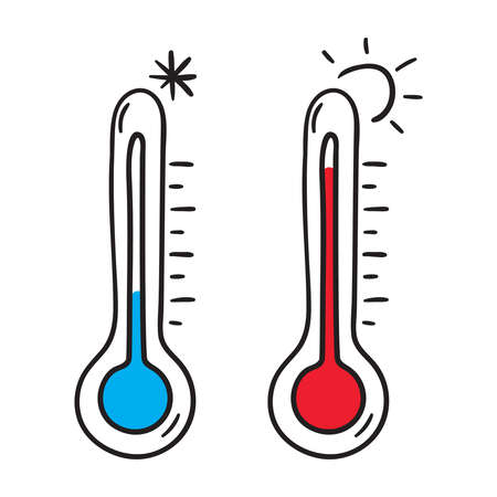 Vector icon thermometer 向量圖像