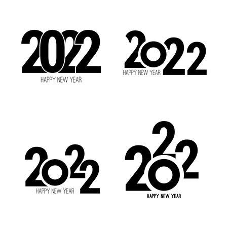 Happy new year banner illustration 向量圖像