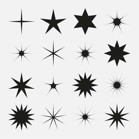 Vector stars sparkle icon