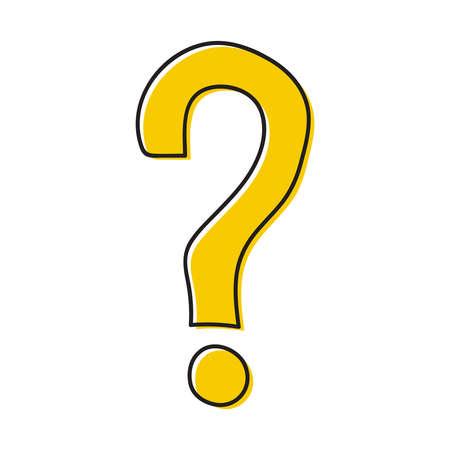 Question mark icon 向量圖像
