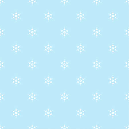 Vector seamless pattern with snowflakes. 向量圖像