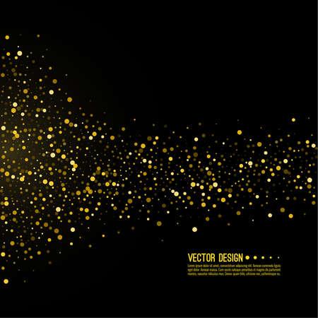 Yellow glitter texture.