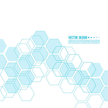 Vector techno illustration. 向量圖像