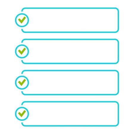 Vector to do list. 向量圖像