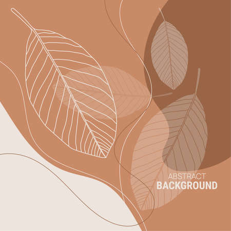Abstract background with organic shapes