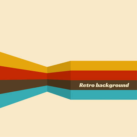 Abstract vector retro vintage background