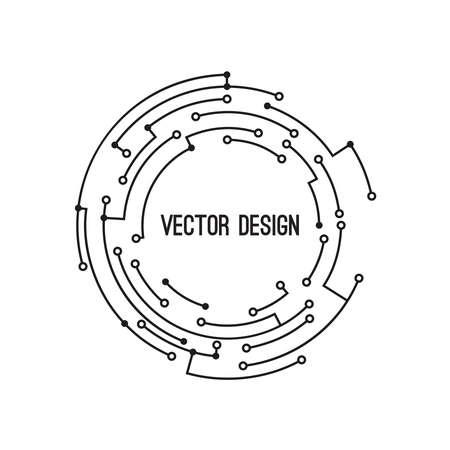 Abstract circle banner 向量圖像