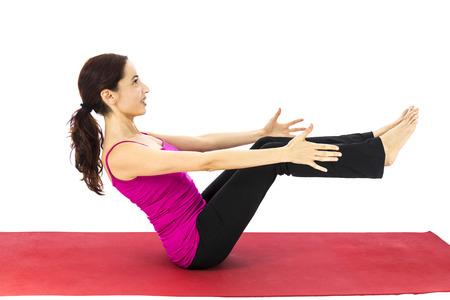 укрепление: Укрепление абс в серии йоги с той же модели имеющейся