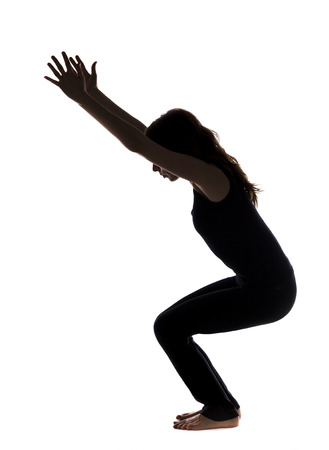 strengthening: Strengthening the leg muscles in Yoga  Series with the same model available