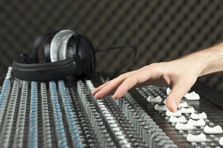parametric: Studio mixer (Series available) Stock Photo