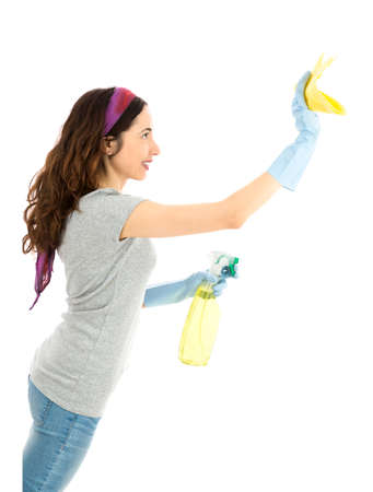 spring cleaning: Spring cleaning Stock Photo