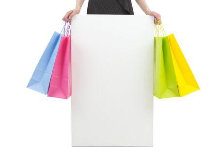 Advertisement banner for shopping