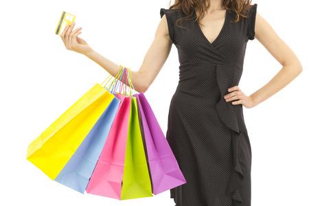 Ir de compras con tarjeta de crédito