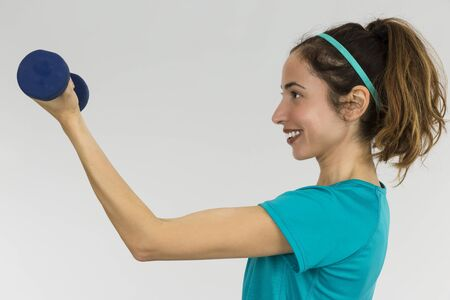 strong: Strong woman Stock Photo