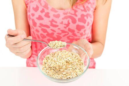 oatmeal bowl: Oatmeal bowl