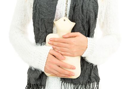 hot water bottle: Hot water bottle Stock Photo