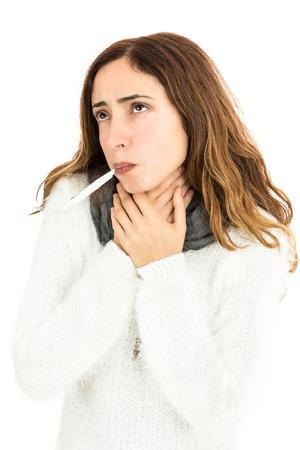 sore: Sore throat