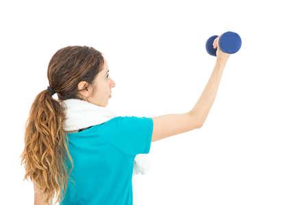 biceps: Biceps training Stock Photo