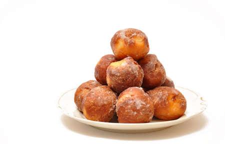 homemade polish donuts on a plate photo