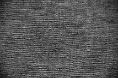 grey background texture: dark gray jeans texture background Stock Photo