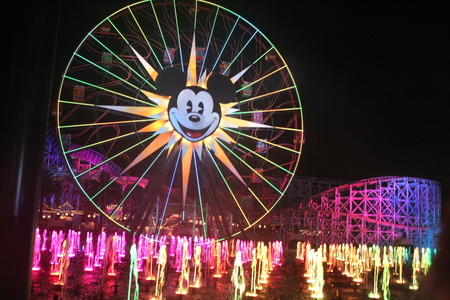 World of color disney california adventure