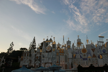 small world: Small world Disneyland Editorial