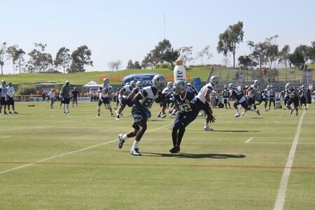 dallas cowboys training camp Stock Photo - 53643162
