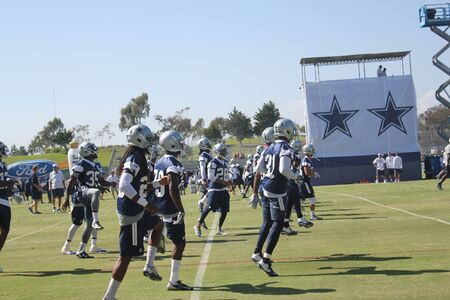 dallas cowboys training camp Editorial
