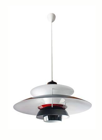 Edgeout designer ceiling lamp against white background photo