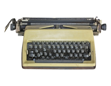 Oude schrijfmachine Stockfoto