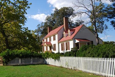 St. George Tucker House - Colonial Williamsburg, VA Redactioneel