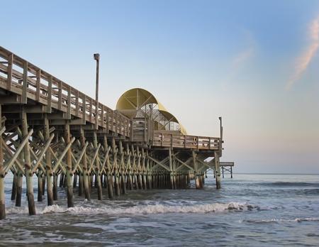 Apache Pier, Myrtle Beach, South Carolina Stock Photo - 12379487
