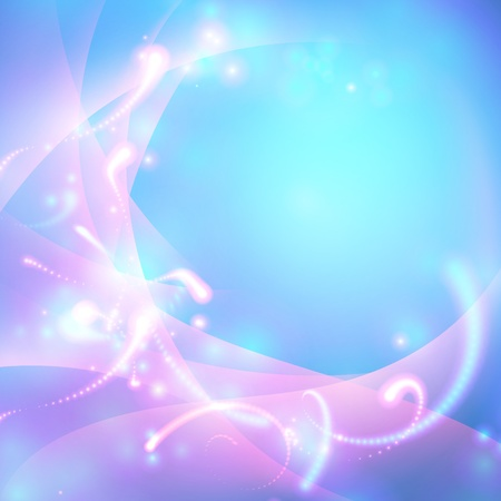abstract shiny blue background Vector