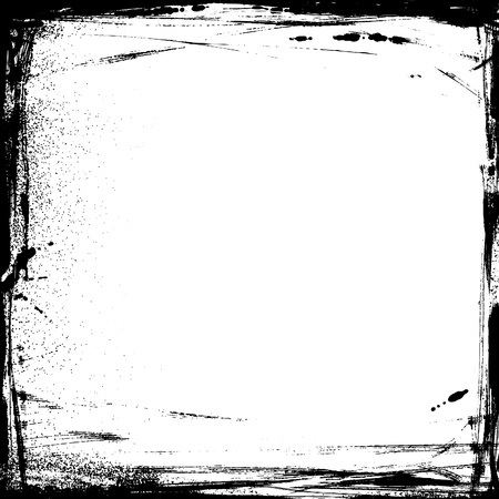 inkblot: vector grunge background with dirty edges